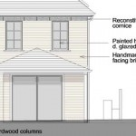 Sample extract of a planning application drawing